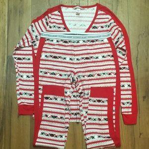 Victoria secret pajama set size medium